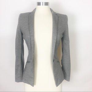 H&M   Career Chic Gray Blazer Stretch